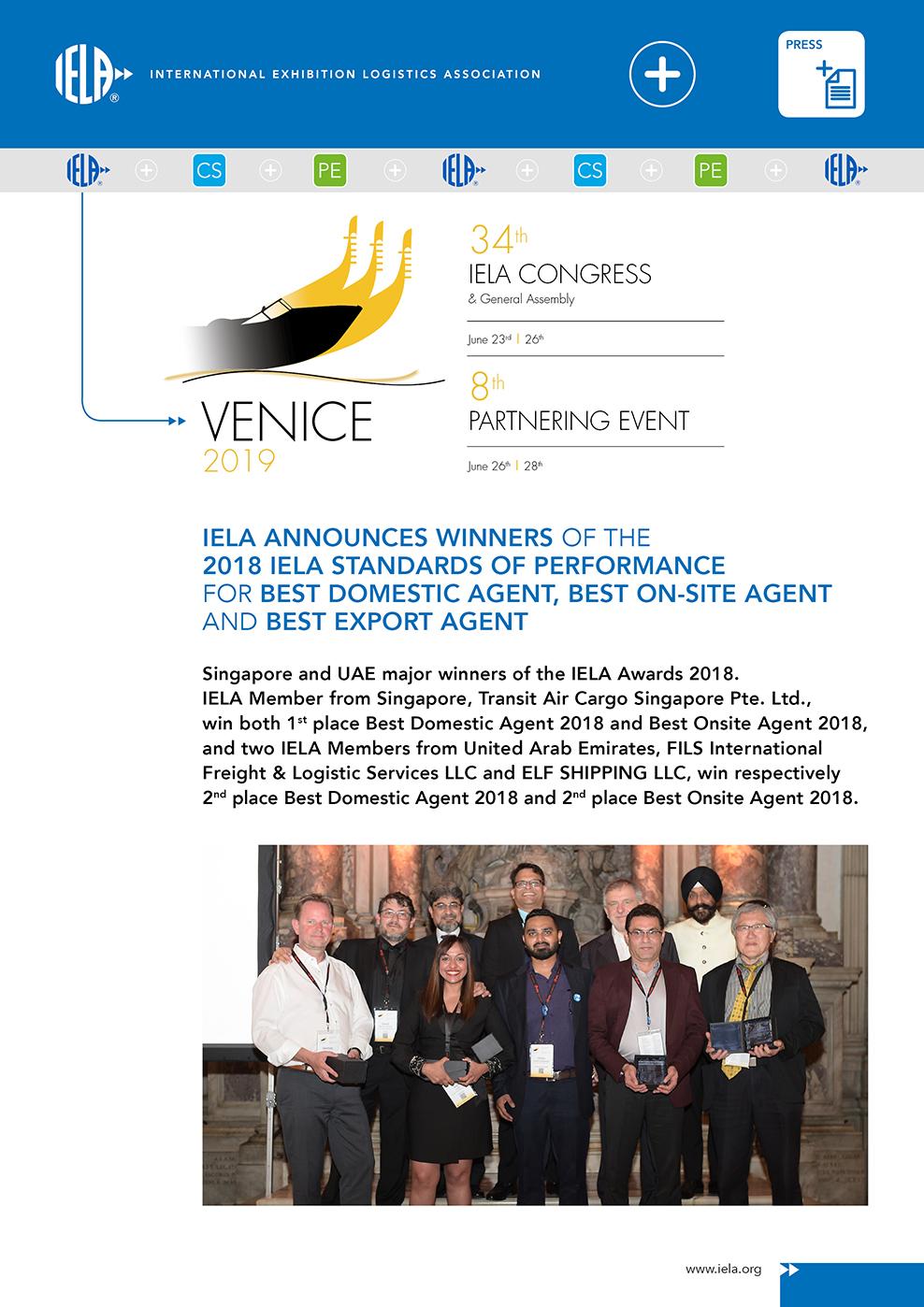 IELA Press Venice 2019